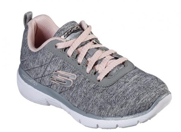 Skechers Skech-Appeal 3.0 - Insiders Kinder Sneaker 81631L (GYLP-Grau)
