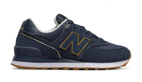 New Balance Damen Sneaker WL574SOC (Blau)