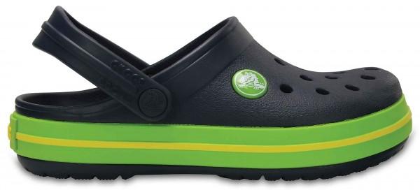Crocs Crocband Kinder (Navy-Volt-Green)