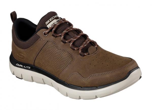 Skechers Flex Advantage 2.0 - Dali Herren Sneaker (Braun-CHOC)