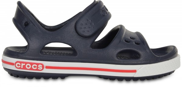 Crocs Crocband II Sandal PS Kinder Sandale (Navy/White)