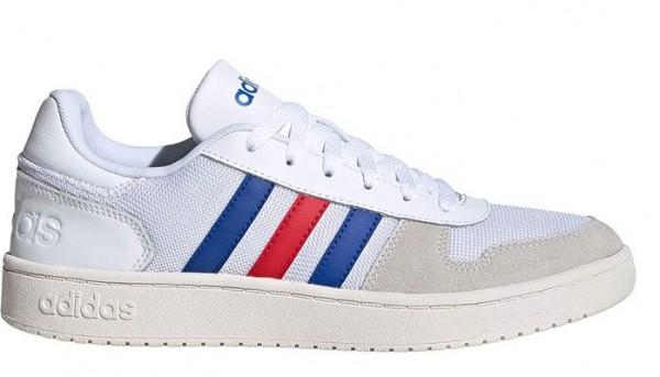 Adidas Hoops 2.0 Herren Sneaker FW8250 (Weiß)