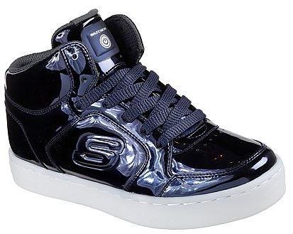 Skechers S Lights:Energy Lights Eliptic Kinder Sneaker 90603L (Blau-NVY)