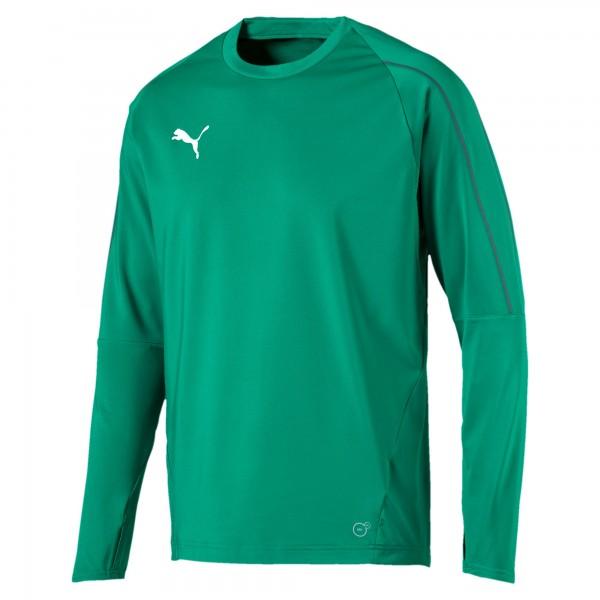 Puma FINAL Training Herren Sweatshirt 655290 (Grün 05)