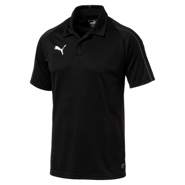 Puma FINAL Sideline Herren Poloshirt 655291 (Schwarz 03)