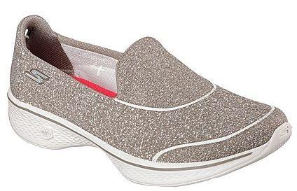 Skechers Gowalk4 - Super Sock 4 Damen Sneaker 14161 (Beige-TPE)