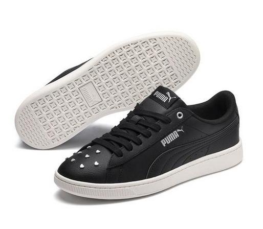 Puma Vikky v2 Studs Damen Sneaker 369111(Schwarz 01)