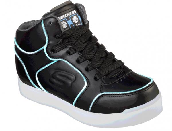 Skechers S Lights: Energy Lights Ultra Kinder Sneaker (Schwarz-BLK)