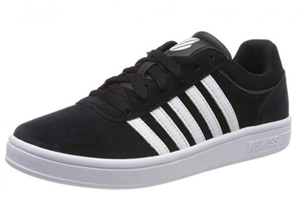 K-Swiss Court Cheswick SDE Damen Sneaker 95676 (Schwarz 002)