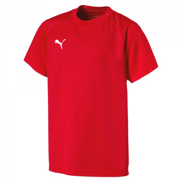 Puma LIGA Training Kinder T-Shirt 655631 (Rot 01)