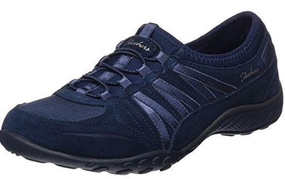 Skechers RELAXED FIT: Breathe Easy - Moneybags Damen Sneaker 23020 (Navy-NVY)